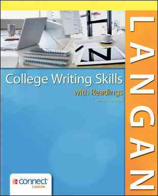 College Writing Skills With Readings By Langan, John